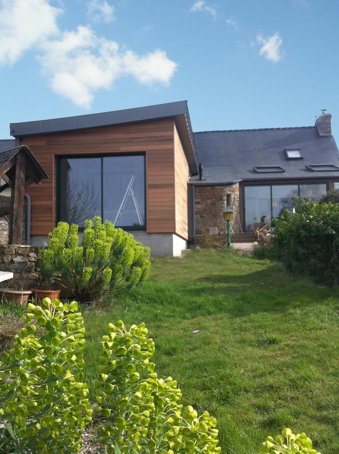 Extension avec vue les architecteurs rennes le blog for Les architecteurs rennes